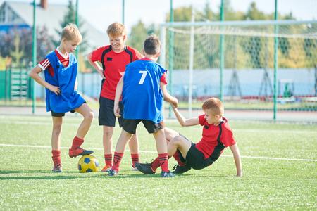 Junioren-Fußballmannschaft