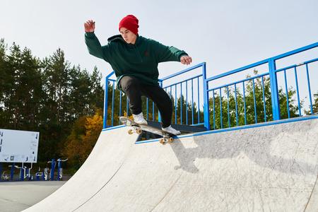 Skater on Ramp