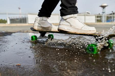 Skater Closeup 版權商用圖片