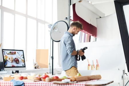 Photographer Shooting Objects