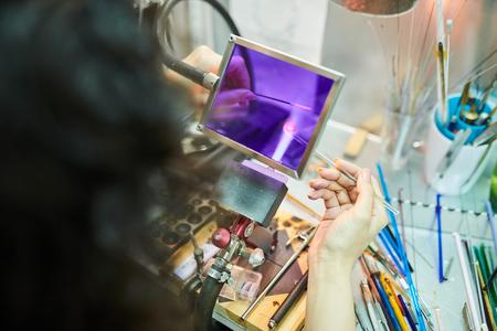 Glasswork in Studio