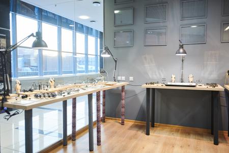 Jewelry Store Interior Фото со стока