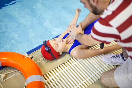 First aid in the pool