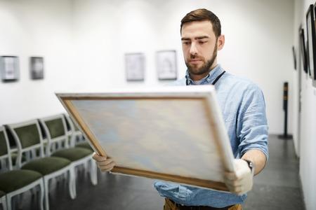 Man Buying Painting