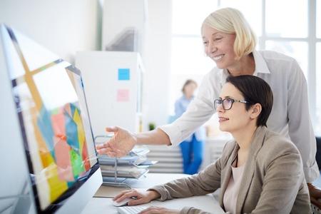 Designer digitale al lavoro