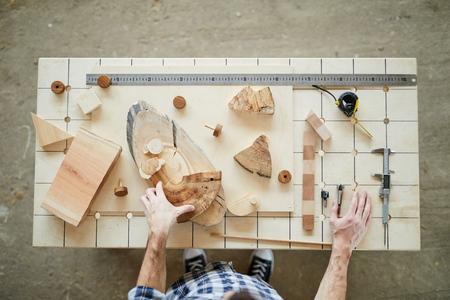 Carpenter at work Reklamní fotografie
