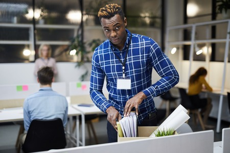 Black man discharged from place of employment
