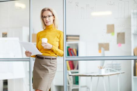 Mature Female Boss