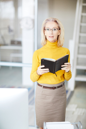 Mature Business Owner Stock Photo