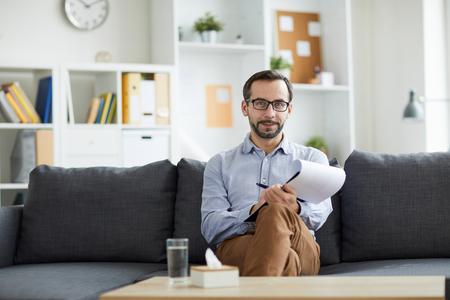 Successful counselor Stok Fotoğraf