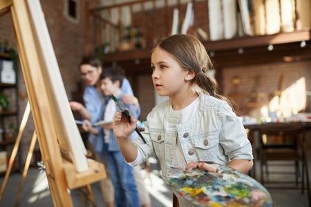 Talented Little Artist