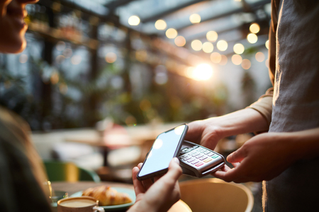 Using smartphone for online payment