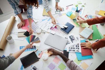 Processus créatif Banque d'images