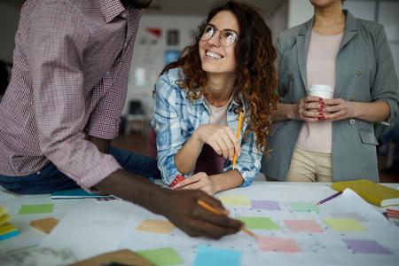 Progetto di pianificazione del team aziendale