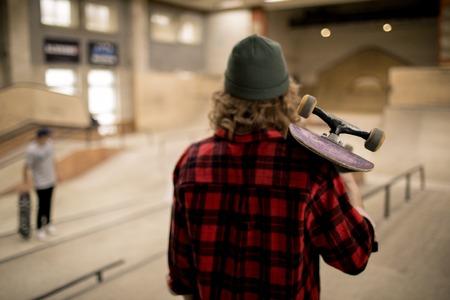 Skater Back View