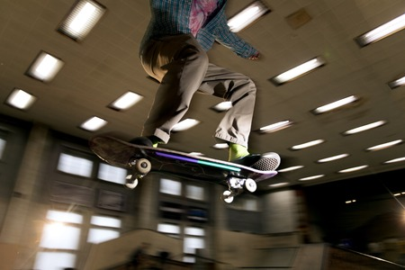 Skater in Air