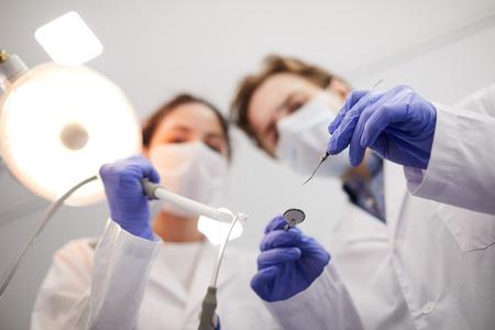 Dentisti sfocati