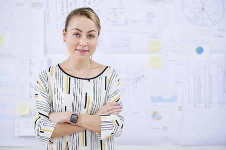 Confident business lady Stock fotó