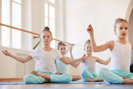 Yoga for Kids Stock Photo