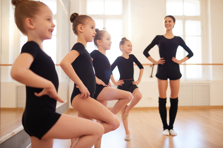 Dance Class for Girls Standard-Bild
