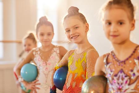 Team of Little Gymnasts