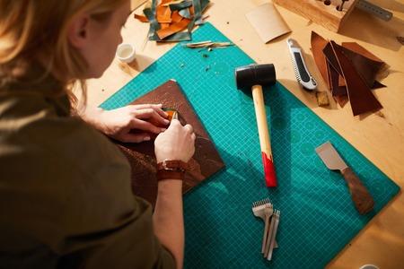 Leatherworker High angle