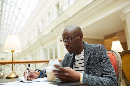 Contemporary African-American Man Reklamní fotografie