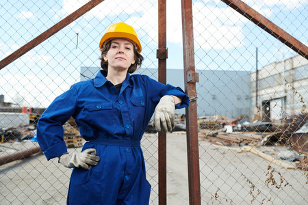 Strong Woman Worker