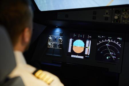 Pilot planning flight route