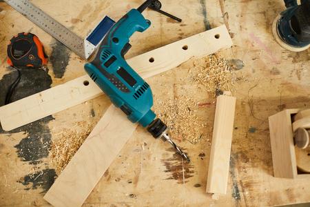 Woodworking Craft 版權商用圖片