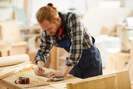 Contemporary Carpenter Working