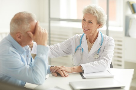 Doctor Supporting Patient
