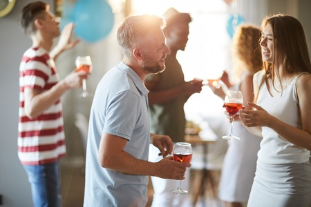 Guests Enjoying Party