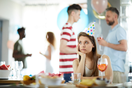 Lonely Girls at Bithday Party