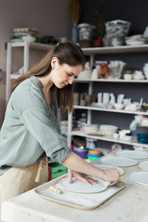 Modern Female Ceramist