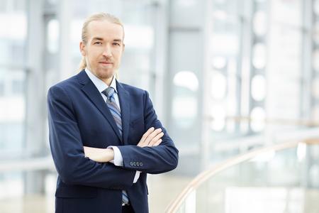Ambitious entrepreneur in suit Zdjęcie Seryjne