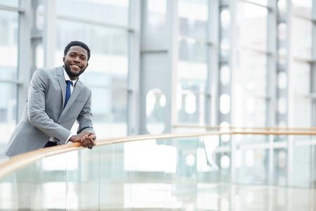 Positive purposeful black executive