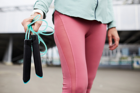 Carrying skipping-rope