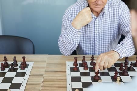 Deliberate chess move