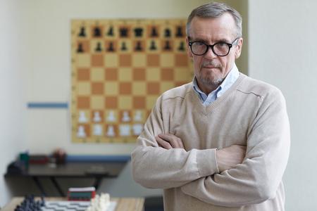Direktor des Schachclubs
