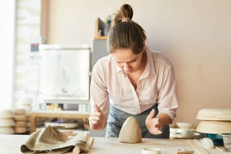 Contemporary Female Potter