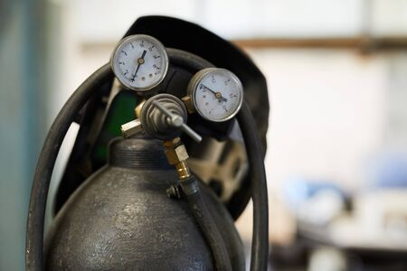Gas cylinder Reklamní fotografie