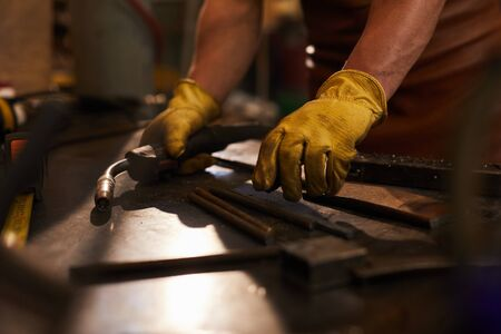 Preparing for arc welding