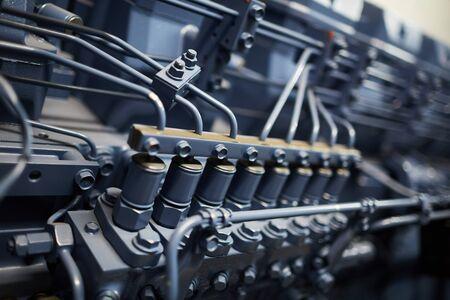 Diesel engine of mining farm machine