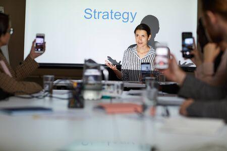 Business course on elaborating strategy
