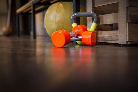 Sport Dumbbell Kettlebell Fitness Medicine Ball photo
