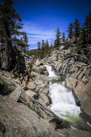 bridalveil fall: Waterfall Yosemite National Park, USA
