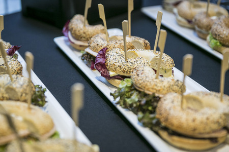 Catering  Assorted bagels