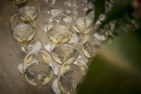 Sparkling wine & champagne / catering Banco de Imagens