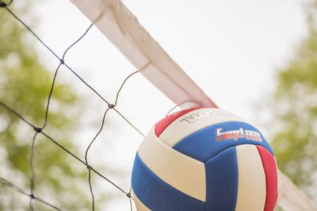 Beach volleyball 写真素材